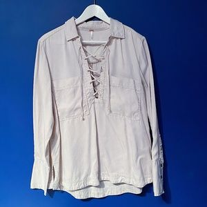 Free People shirt for casual and formal wear